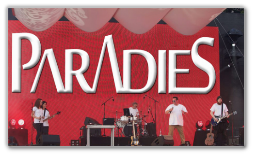 Die Westpop Band PARADIES live in Reusrath